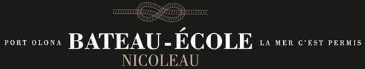 Bateau École Nicoleau – Permis Bateau et permis mer aux Sables d'Olonne Logo