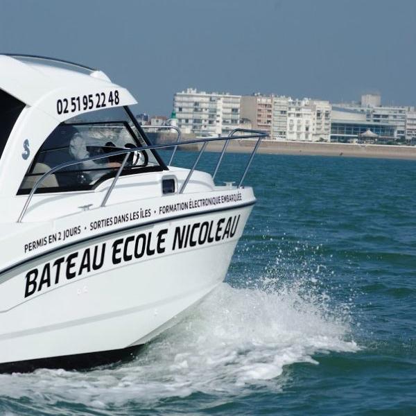 Tarifs bateau école Nicoleau